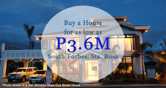 South Forbes Golf City, Sta. Rosa